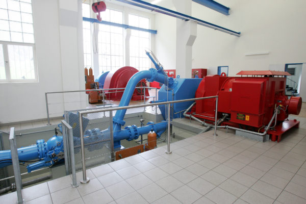 Kraftwerk Bocki I der Gemeindewerke Erstfeld