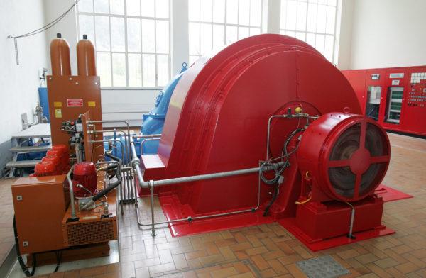 Kraftwerk Bocki II der Gemeindewerke Erstfeld