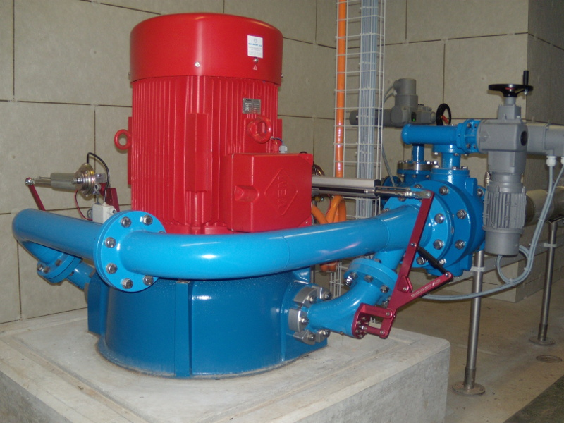 Trinkwasserkraftwerk Helltal