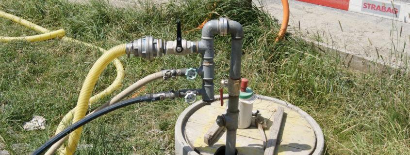 Temp. Wasseranschluss