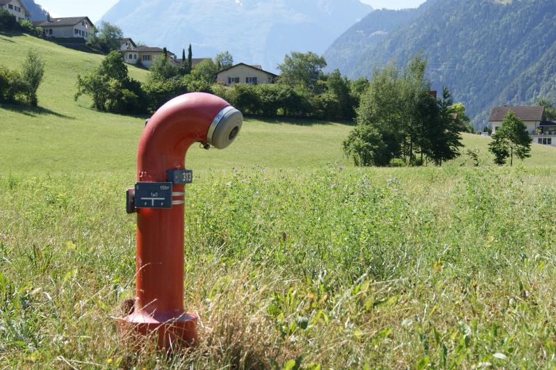 Hydrant Gemeindewerke Erstfeld