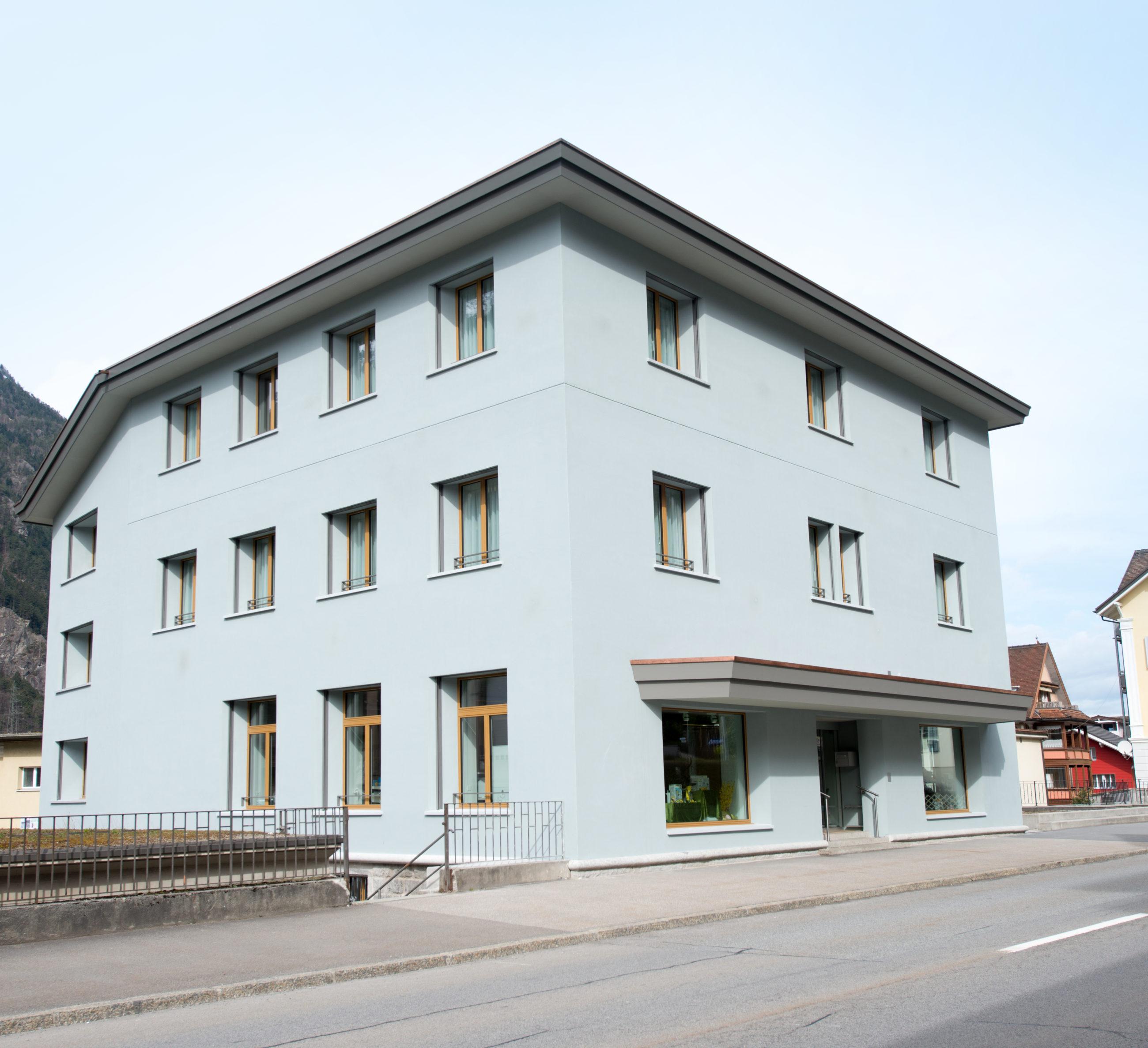 Verwaltungsgebäude Gemeindewerke Erstfeld