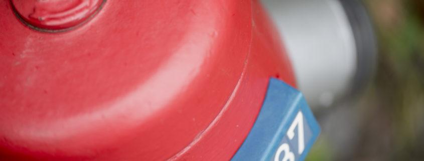 Hydrant Nr. 837 der Gemeindwerke Erstfeld
