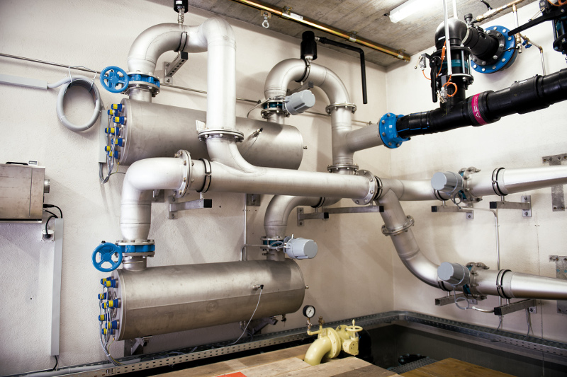 UV-Entkeimungsanlage Trinkwasserkraftwerk Flüe