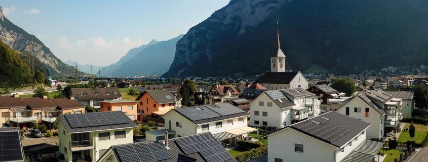 PV-Anlagen Überbauung Taubach